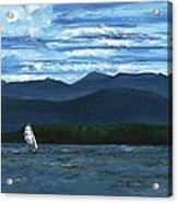 Juniper Island Lake Champlain Vt/ny Acrylic Print