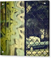 Junk Yard Acrylic Print