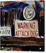 Junkyard Dog Acrylic Print
