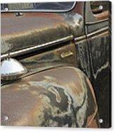 Junkyard Series Old Plymouth Acrylic Print