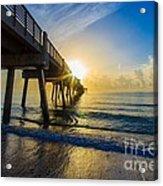 Juno Beach Sunrise Acrylic Print