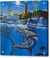 Jupiter Boat Parade Acrylic Print