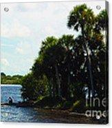 Jupiter Florida Shores Acrylic Print