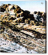 Jupiter Terrace Yellowstone Np 1928 Acrylic Print