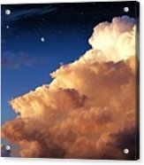 Jupiter's Stormy Sunset Acrylic Print by Tharsis Artworks