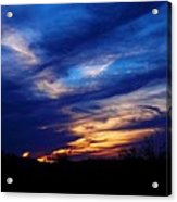 Just About Night Acrylic Print