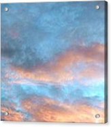 Just Amazing Sky Acrylic Print