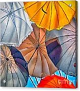 Just Ambrellas Acrylic Print