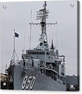 Just Another Battleship Photo Of The Uss Joseph P Kennedy Jr  Acrylic Print