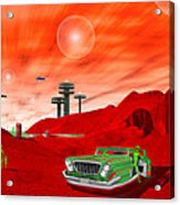 Just Another Day On The Red Planet 2 Acrylic Print