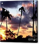 Just Another Sunrise In Paradise Acrylic Print