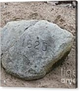 Just Another Veiw Of Plymouth Rock Acrylic Print