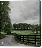 Just Around The Bend Acrylic Print by Tanya Jacobson-Smith