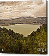 Just Before The Storm - Ardales Acrylic Print