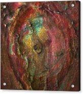 Just Below Acrylic Print by Jack Zulli