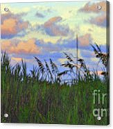 Just Over The Dune Acrylic Print