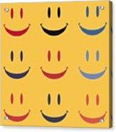 Just Smile Acrylic Print