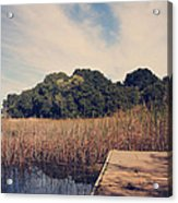 Just To Make This Dock My Home Acrylic Print