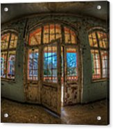 Just Windows And A Door Acrylic Print