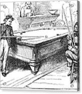 Juvenile Delinquency, 1881 Acrylic Print