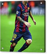 Juventus V FC Barcelona  - Uefa Acrylic Print