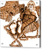 K Is For Kudzu Acrylic Print