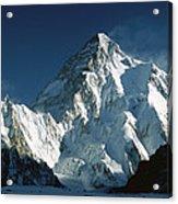 K2 At Dawn  Acrylic Print