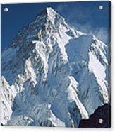 K2 At Dawn Pakistan Acrylic Print