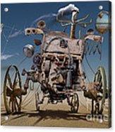 K316 Acrylic Print by Radoslav Penchev