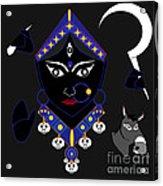 Kaalraatri Acrylic Print by Pratyasha Nithin