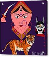 Kaatyayani Acrylic Print by Pratyasha Nithin