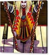 Kabuki Chopsticks 1 Acrylic Print