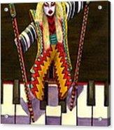 Kabuki Chopsticks 2 Acrylic Print