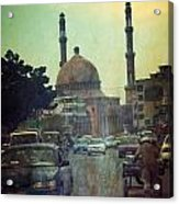 Kabul Diaries  Acrylic Print by Fareeha Khawaja