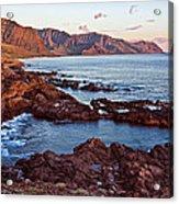 Ka'ena Point Oahu Sunset Acrylic Print