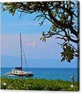 Kahanapali Beach Maui Acrylic Print