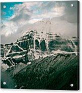 Kailas Mountain Tibet Home Of The Lord Shiva Acrylic Print