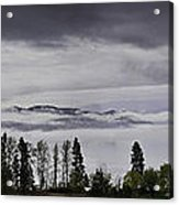 Kal Lake In The Mist Acrylic Print by Rod Sterling