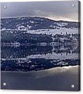 Sunset Kalamalka Lake - British Columbia Acrylic Print