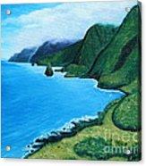 Kalaupapa Peninsula Acrylic Print