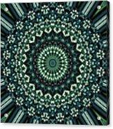Kaleidoscope 10 Acrylic Print by Tom Druin