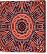 Kaleidoscope 40 Acrylic Print