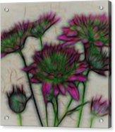 Kaleidoscope Bouquet Acrylic Print
