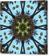 Kaleidoscope Palms Acrylic Print