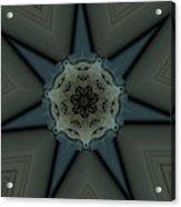 Kaleidoscope Star Acrylic Print