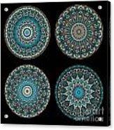 Kaleidoscope Steampunk Series Montage Acrylic Print