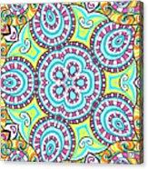 Kaleidoscopic Whimsy Acrylic Print