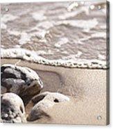 Kamaole Beach Rock Acrylic Print