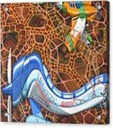 Kamikaze Kraze Acrylic Print