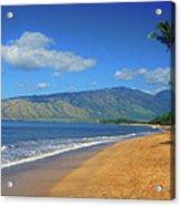Kamole Beach Kihei Maui Hawaii Acrylic Print